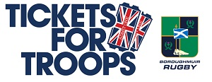 Tickets For Troops Rugby Boroughmuir