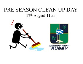 Club Clean Up Day