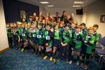 Muir Minis at Murrayfield