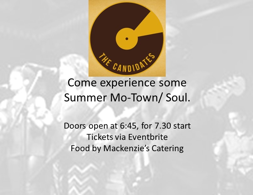 Come experience some Summer Mo-Town / Soul.