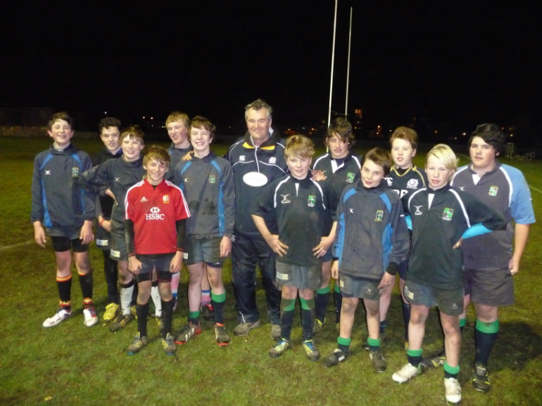 Boroughmuir Youth with Frank Hadden