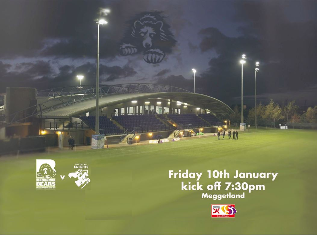Bears v Knights Friday Night Rugby
