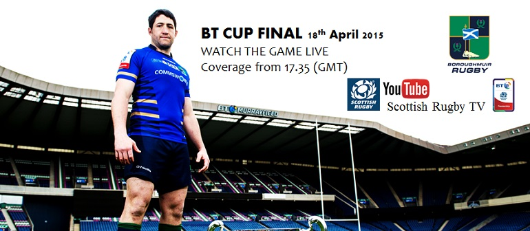 Watch the BT Cup Live