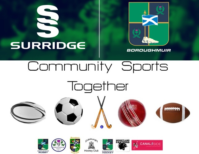 Boroughmuir Rugby Announce New Partnership with Surridge Sport