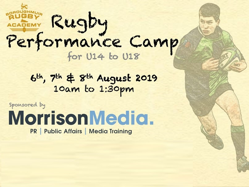 Academy Performance Camp - Summer 2019 (S2 to U18)