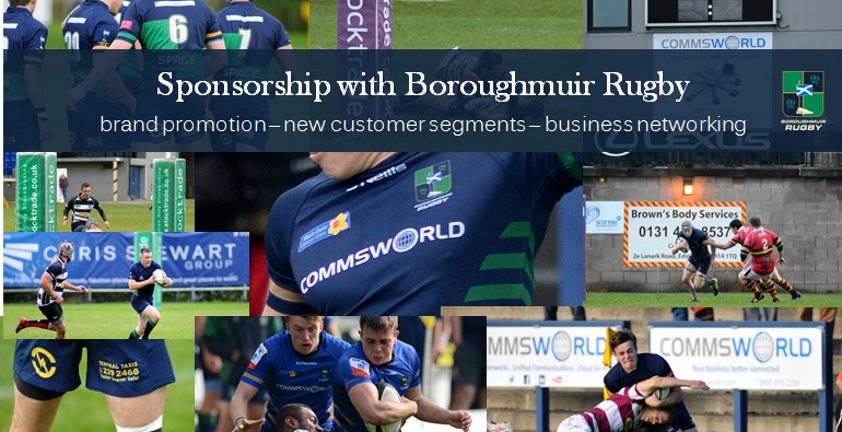 Sponsorship with Boroughmuir Rugby