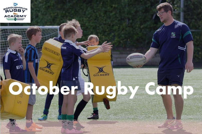 OCTOBER P4 to S2 YOUTH RUGBY CAMP 2018