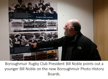 Bill Nobel Mural Panels Boroughmuir