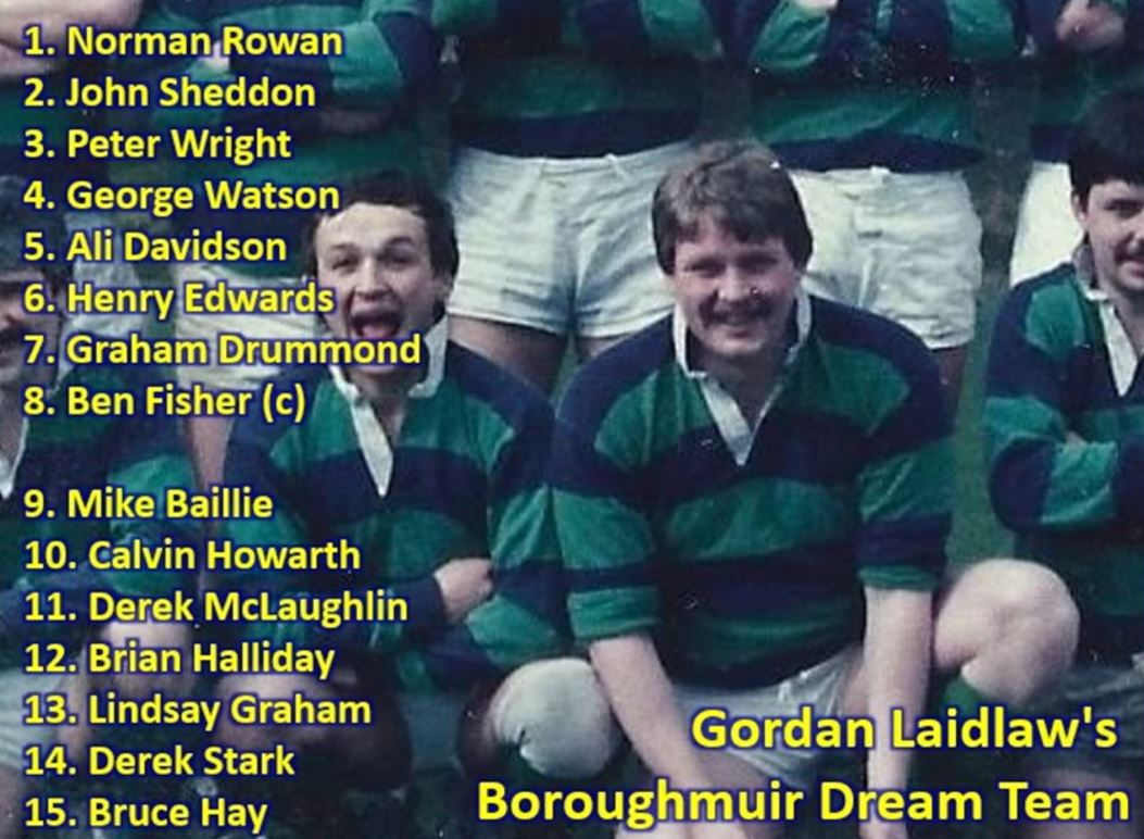 Boroughmuir Dream Teams