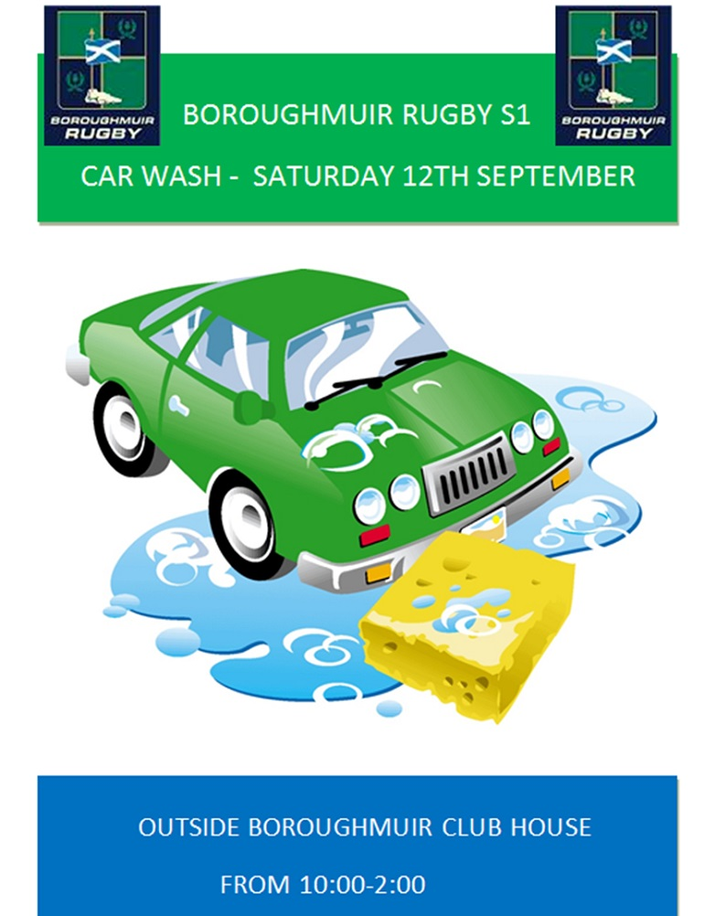 S1 Car Wash This Saturday