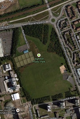Location of Boroughmuir Pre Season Training