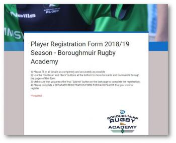 2018-19 Academy Player Registration Now Live